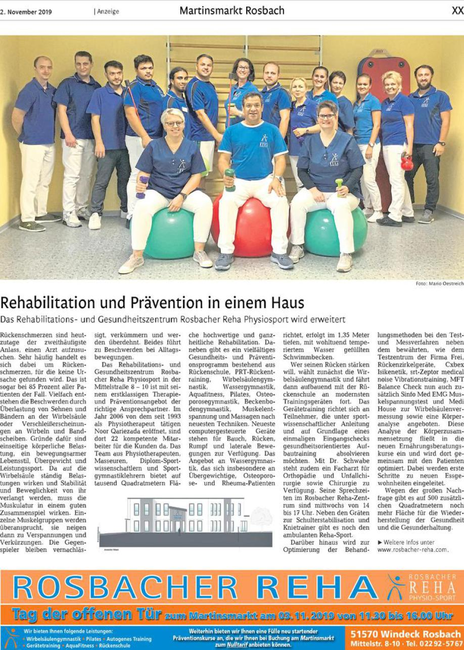 Rosbacher Reha Physio Sport